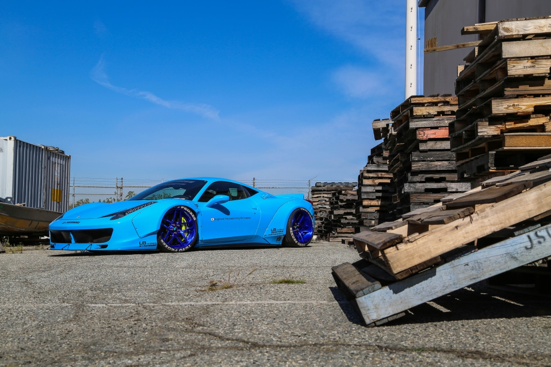 ferrari italia widebody. libert walk widebody ferrari 458 on forgiato wheels italia